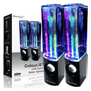 USB Dancing Fountain Speakers