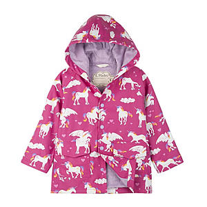 Unicorn Printed Raincoat