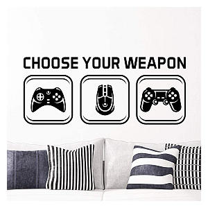 Video Game Vinyl Wall Stickers
