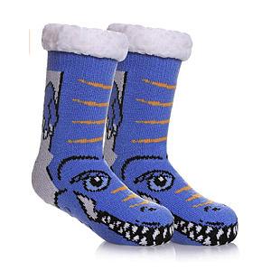 Warm Slipper Cartoon Socks