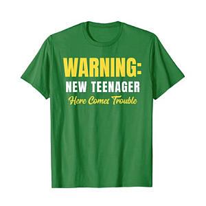 Warning New Teenager T Shirt