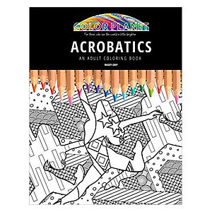 Acrobatics Colouring Book