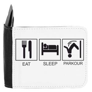 Eat Sleep Parkour Men's Wallet