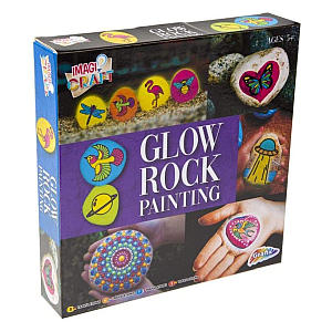 Glow In The Dark Rock Painting Kit