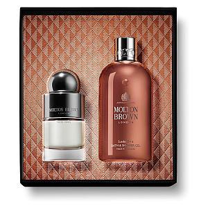 Molton Brown Suede Orris Shower Gel & Fragrance Gift Set