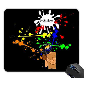 Paintball Enthusiast Mouse Pad