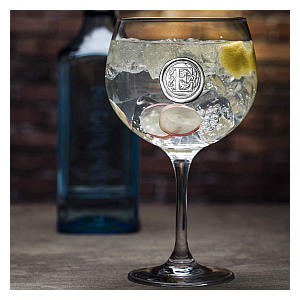 Personalised Initial Gin Glass