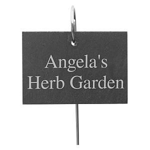 Personalised Outdoor Garden Slate Sign