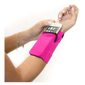 Zipper Storage Wristband