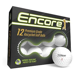 12 Titleist Pro V1 Recycled Lake Golf Balls