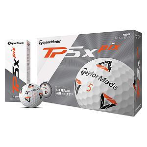 12x TaylorMade TP5x Golf Balls