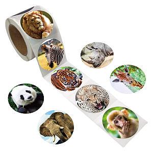 200 Zoo Animal Stickers