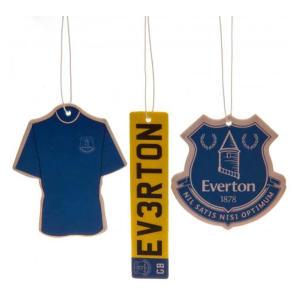 3 Pack Everton Air Fresheners