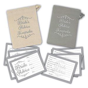 30 X Bride Advice Cards