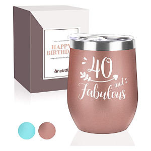 40 And Fabulous Insulated Tumbler