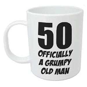 50 And Grumpy Funny Mug