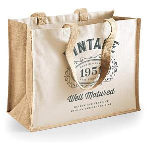 70th Birthday Funny Tote Bag