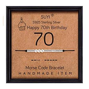 70th Morse Code Bracelet