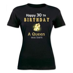 A Queen Was Born 30th T-Shirt