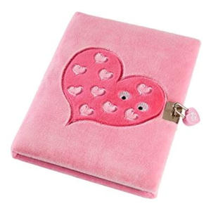 A5 Snuggly Soft Touch Lockable Journal