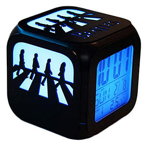 Abbey Road LED Alarm Clock