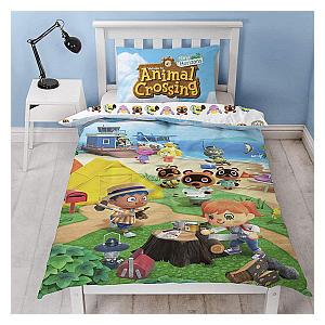 Animal Crossing Reversible Duvet