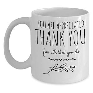 Appreciation Thank You Mug