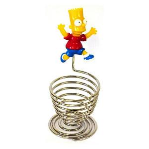 Bart Simpson Chrome Egg Cups Set