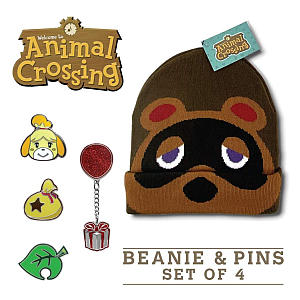 Beanie and Pin Bundle