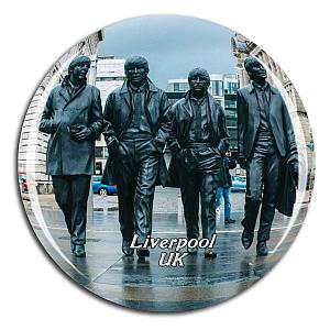 Beatles Statue Fridge Magnet