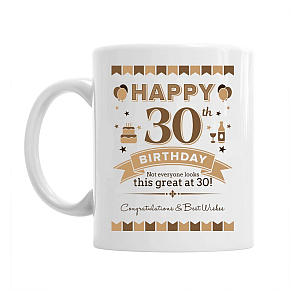 Birthday Keepsake Mug For 30 Year Old