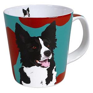 Border Collie Colourful Mug