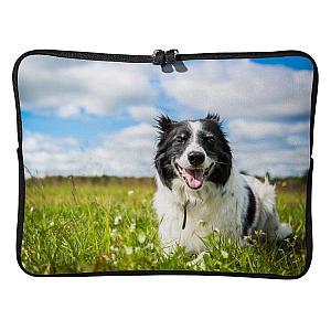 Border Collie Laptop Bag