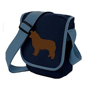 Border Collie Shoulder Bag