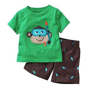 Boy Monkey Pyjamas Set