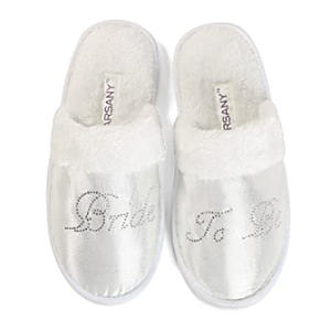 Bride To Be Diamante Slippers