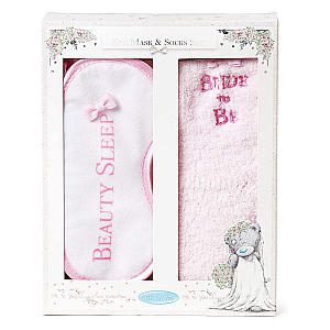 Bride To Be Eye Mask And Socks Set