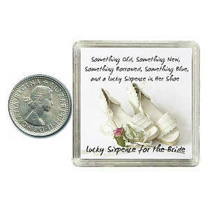 Bride To Be Lucky Sixpence