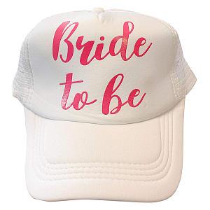 Bride To Be White Cap
