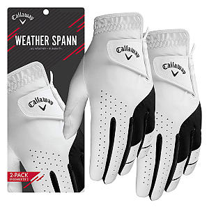 Callaway Men's Leather Golf Gloves