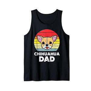 Chihuahua Dad Tank Top