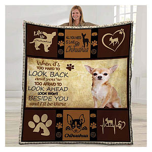 Chihuahua Dog Blanket Fleece