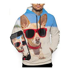 Chihuahua Unisex Cool Print Hoodie