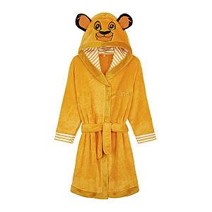 Children's Lion King Hooded Dressing Gown
