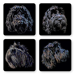 Cockapoo Coaster Set