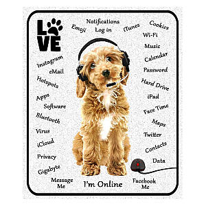 Cockapoo Dog Mouse Mat