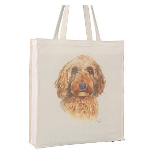 Cockapoo Shopping Tote Bag