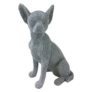 Diamante Sitting Chihuahua Ornament
