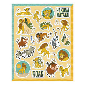 Disney Lion King Stickers Pack