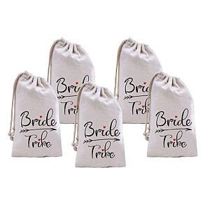 Elegant Bride Tribe Bags